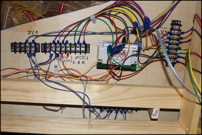 wiring a dcc layout