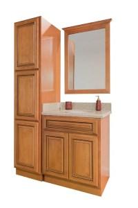 Maple Glaze Bathroom Cabinets | Bathroom Cabinet Sets ...