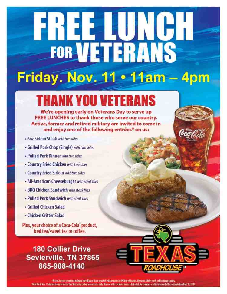 Free Lunch for Veterans - with entree choices-page-001