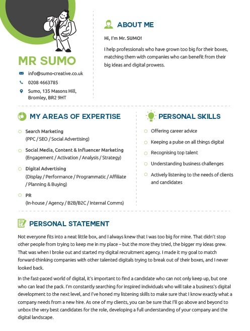 Mr Sumo\u0027s Career Advice SUMO Digital Recruitment in London