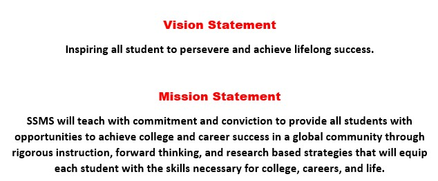 SSMS Vision  Mission Statement