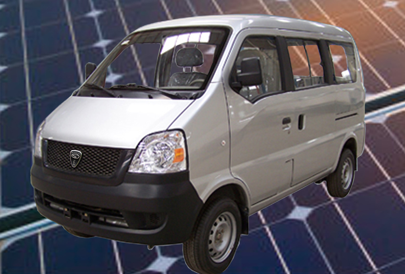 Sunbeam Electric Van