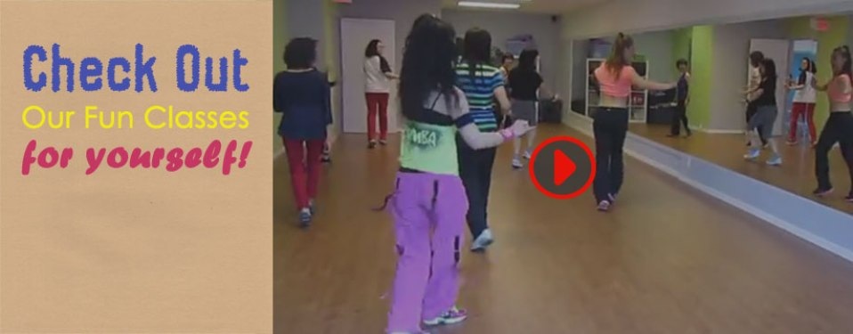 Video of Sunberry Zumba and other classes.