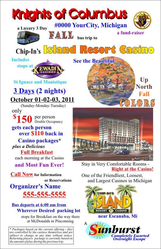 Group Trip Flyer