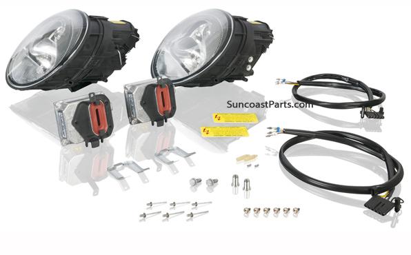 Suncoast Porsche Parts  Accessories Xenon Litronic Headlights