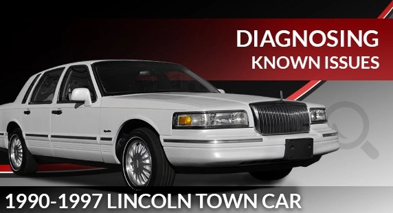 1990 - 1997 Lincoln Town Car Air Suspension Troubleshooting