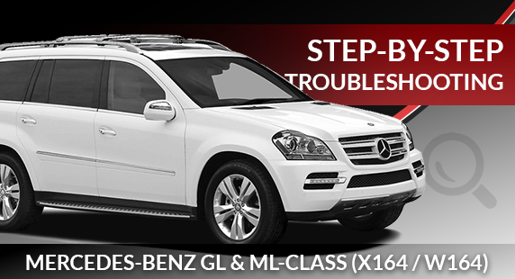 Mercedes-Benz W164  X164 Airmatic Troubleshooting