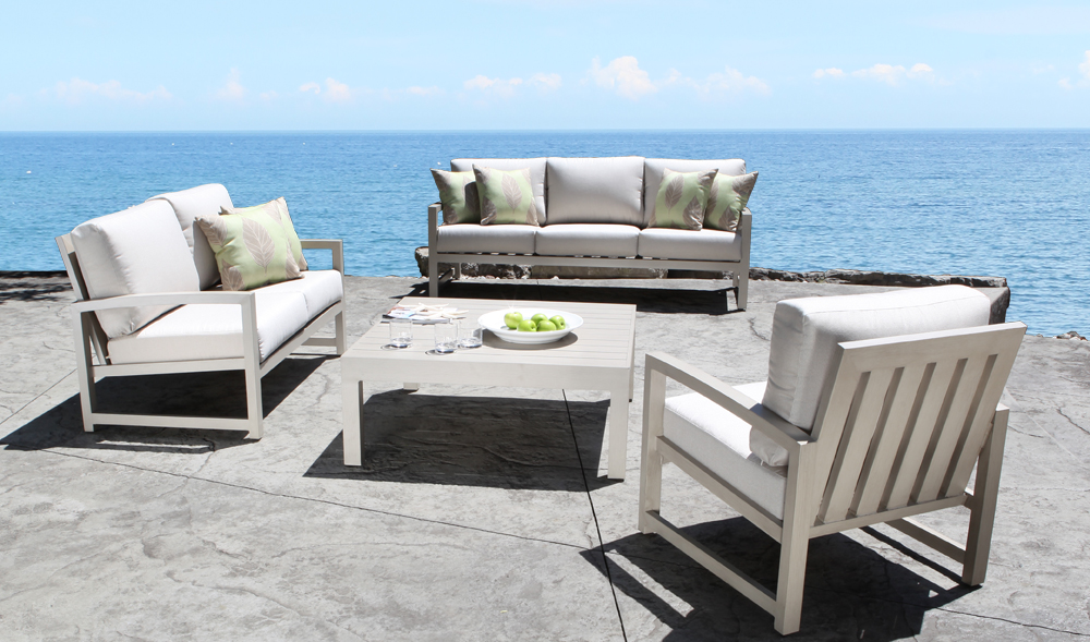 Venice Cast Aluminum Seating Collection