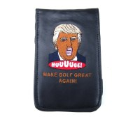 Donald Trump - Scorecard + Yardage Book Holder - Sunfish