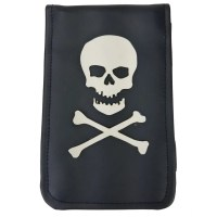 Skull and Crossbones - Scorecard + Yardage Book Holder ...