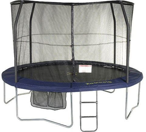 14ft JumpPOD Deluxe Trampoline