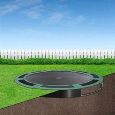 10ft Capital In Ground Trampoline