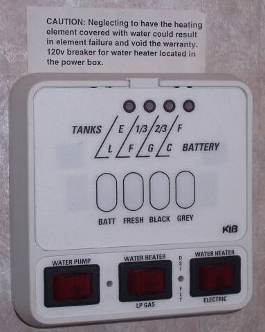 Kib Rv Monitor Panel Wiring Diagram Hw Heater Power On Switches What Does Your Camper Have