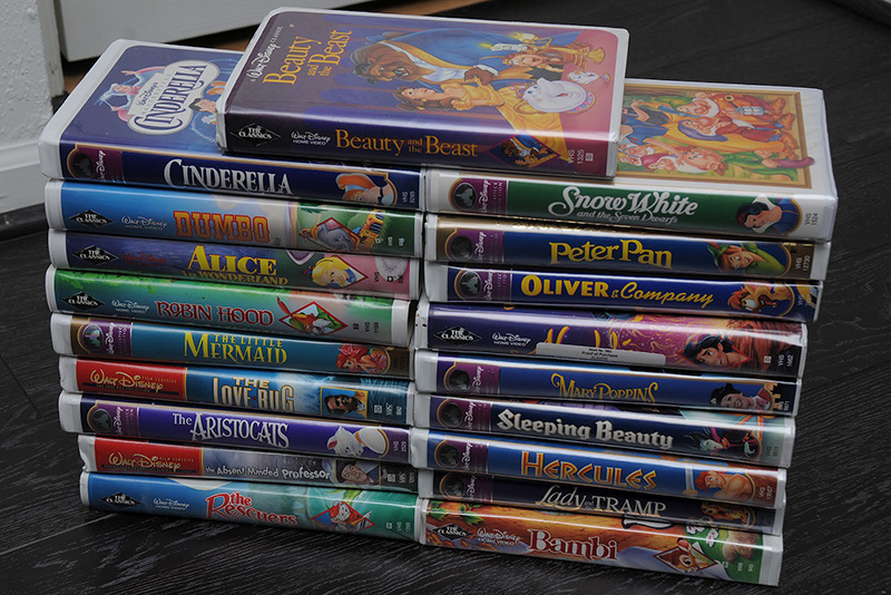 Go Find Your Old Disney Vhs Tapes They Could Be Worth A