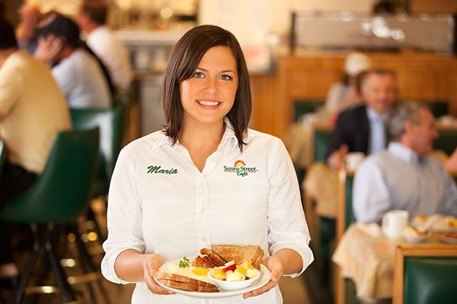 Maria catering manager - Sunny Street Cafe