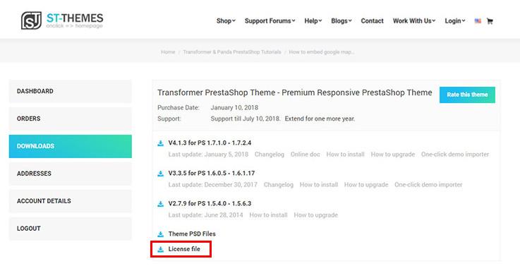 Transformer PrestaShop Theme - Premium Template for 16 and 17