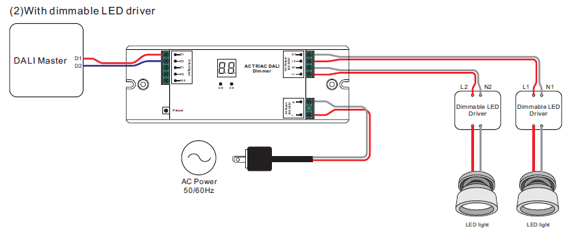 wiring diagrams for dimmable led fixture