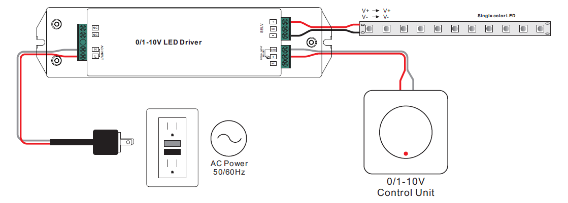 touch control panel wiring diagram