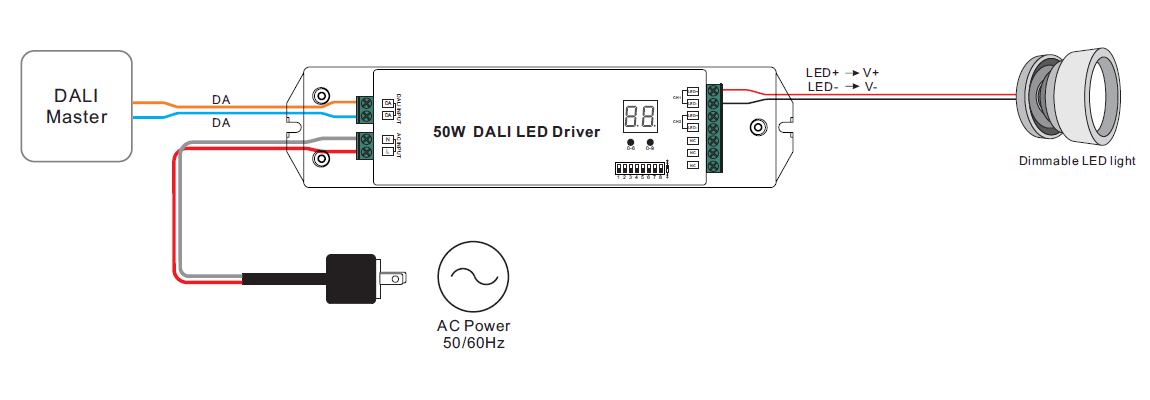 led driver wiring diagram dali led driver wiring diagram for led