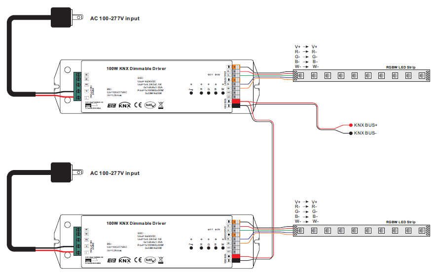 constant current knx dimmer sr