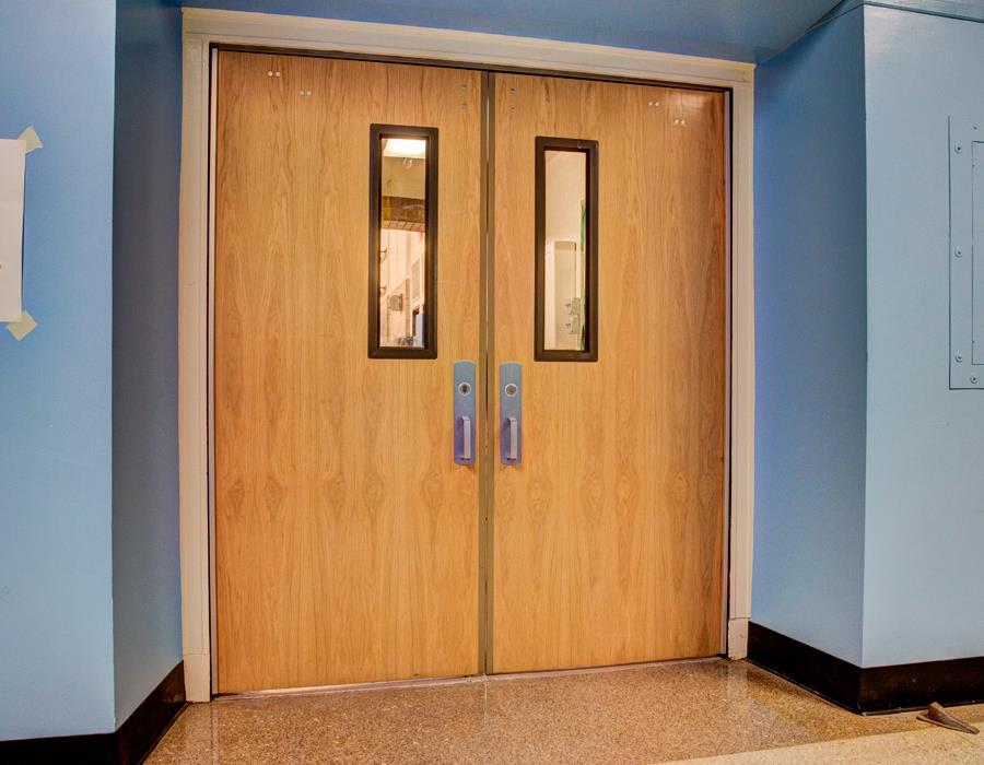 School Door & School Classroom Door 3d Model