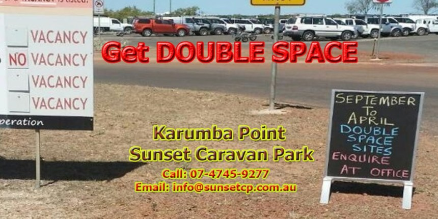 Get Double Space 1