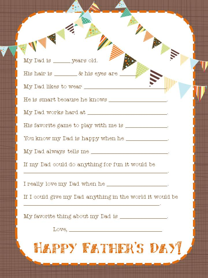 Father\u0027s Day Printable Round Up