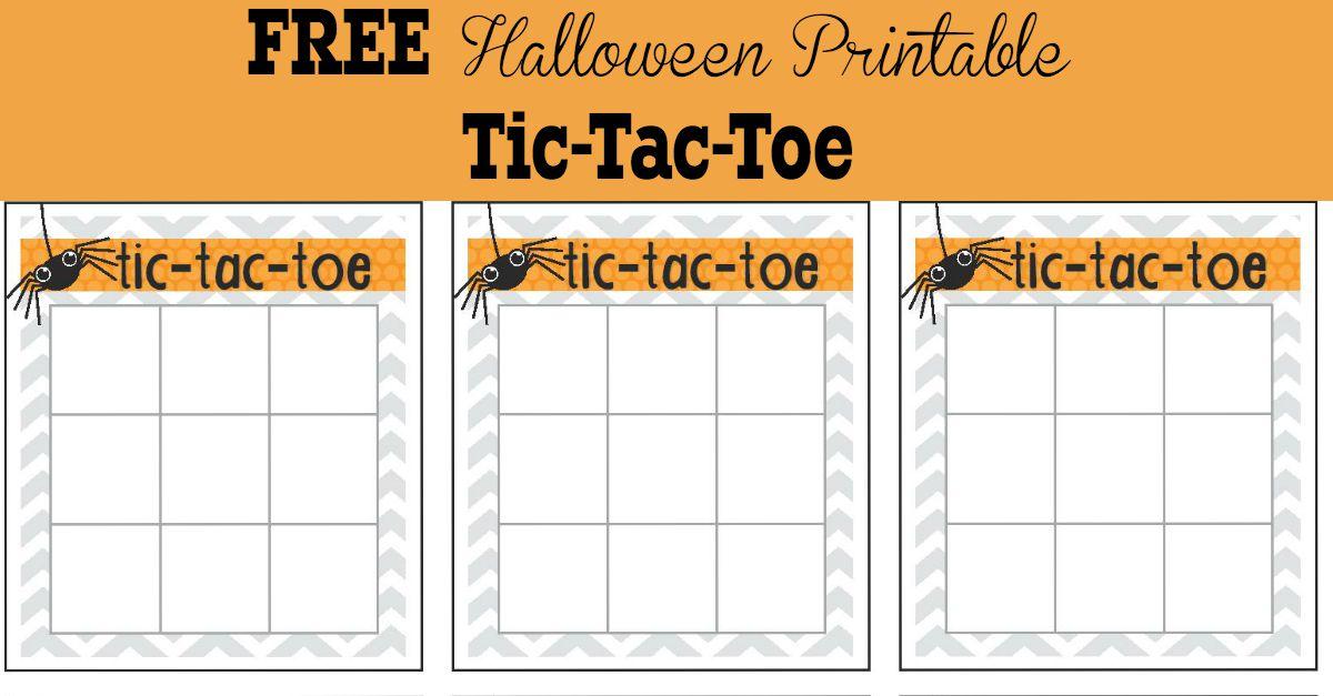 Sample Tic Tac Toe Template | cvfree.pro