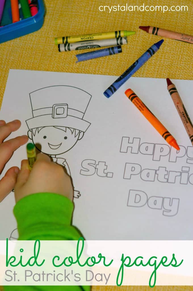 St. Patricks Day Activities