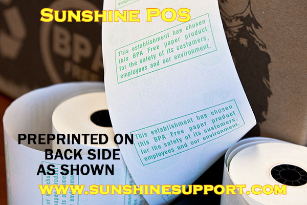 Thermal BPA Free Receipt Printer Paper Rolls - free reciepts