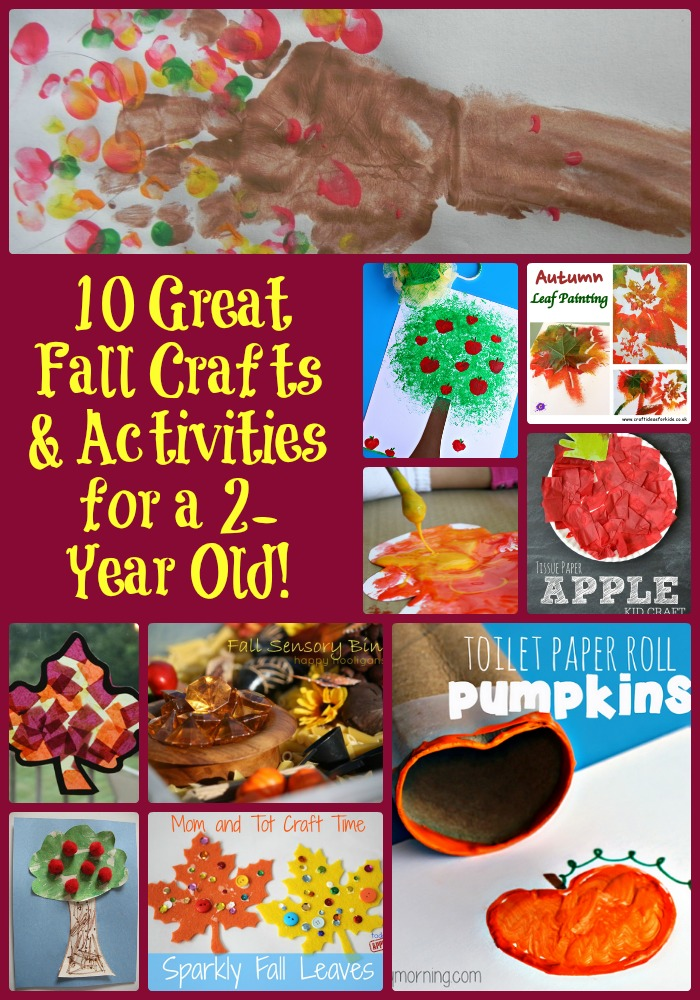 10 great fall crafts activities for a 2 year old