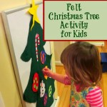 Felt Christmas Tree Activity!