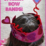 Sparkly Bow Band Craft for Kids!