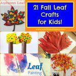 21 Fun Fall Leaf Crafts for Kids!