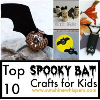 bat crafts for kids
