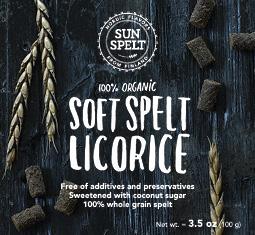 Spelt Licorice