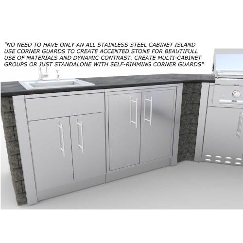 Medium Crop Of Stainless Steel Cabinets
