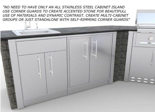 Medium Of Stainless Steel Cabinets