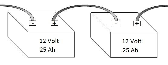 parallel wiring batteries in series in addition wiring parallel or