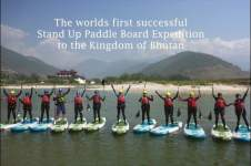 FIRST SUP EXPEDITION TO BHUTAN