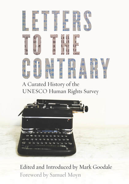 Letters to the Contrary A Curated History of the UNESCO Human