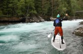 White water SUP Norway