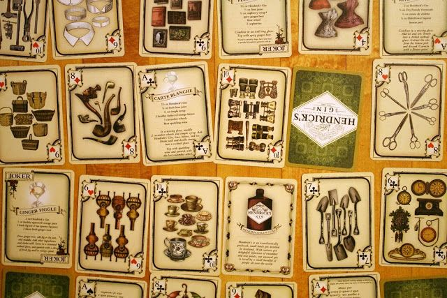 Hendrick's Gin Playing Cards