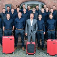 RIMOWA Victory Red For German National Soccer Team