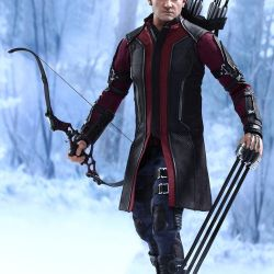 U 16 Hot Toys Mms289 Marvel Avengers Hawkeye Clint Barton