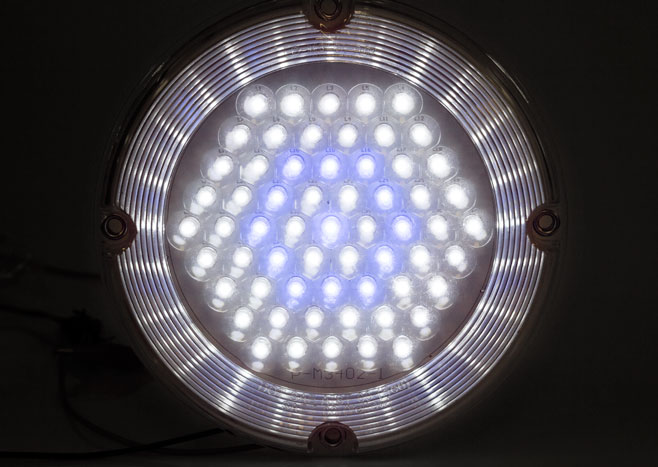 """7"""" Round LED Dome Light Fixture"""