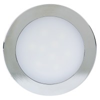 Mini Recessed LED Light Fixture with Removable Trim - 50 ...