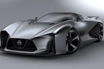 2014 Nissan Concept 2020 Vision Gran Turismo