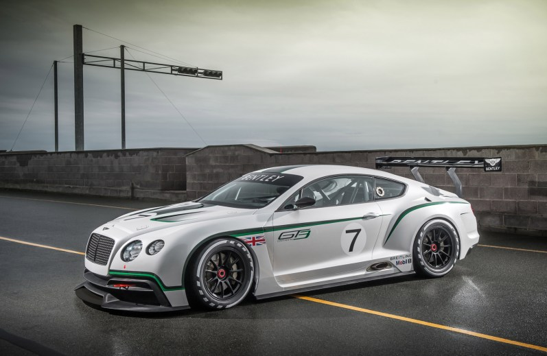 2012 Bentley Continental GT3 concept