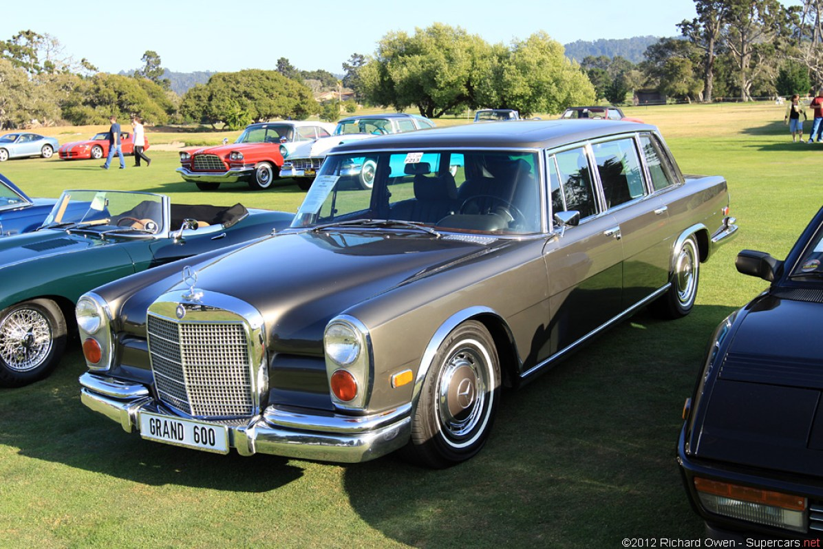 1963 1981 mercedes benz 600 limousine for Mercedes benz c 600